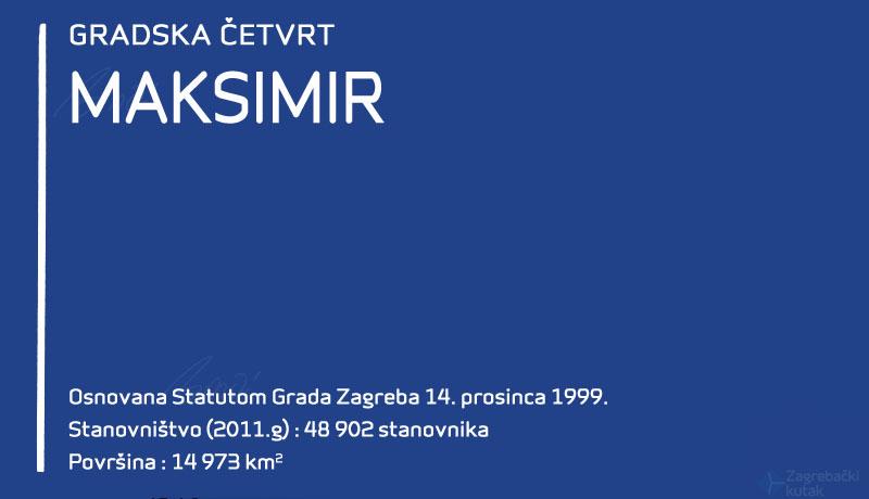 Gradska četvrt Maksimir