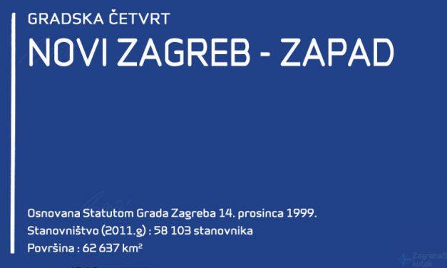 Gradska četvrt Novi Zagreb – zapad
