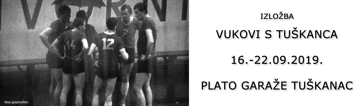 """Izložba """"Vukovi s Tuškanca"""" 16.-22.09"""