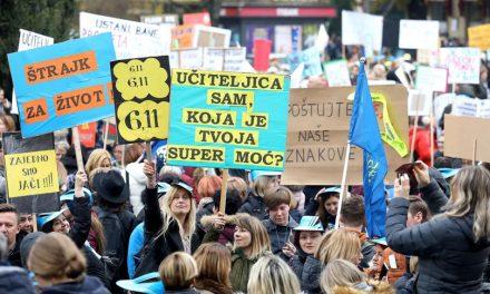 """Veliki prosvjed """"Hrvatska mora bolje""""na Trgu bana Jelačića"""