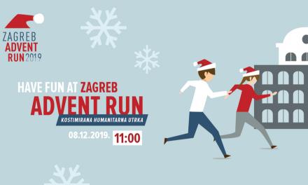 U nedjelju 8. prosinca 4. Zagreb Advent run