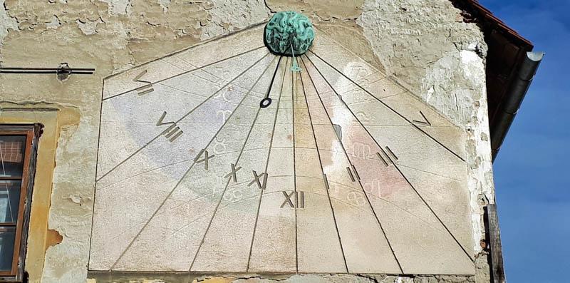 Sunčani sat u Tkalčićevoj