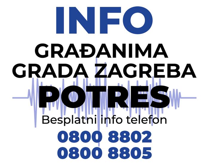 Grad Zagreb aktivirao račun za pomoć saniranja posljedica potresa