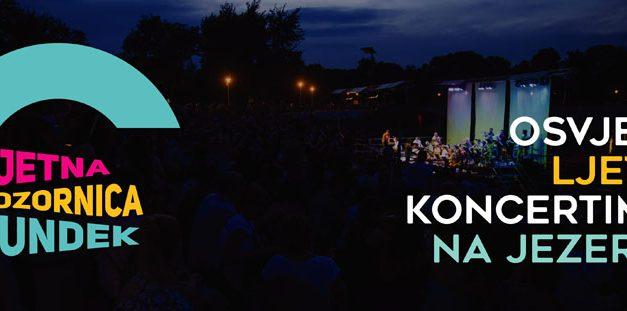 Ljetna pozornica na Bundeku – koncertne večeri