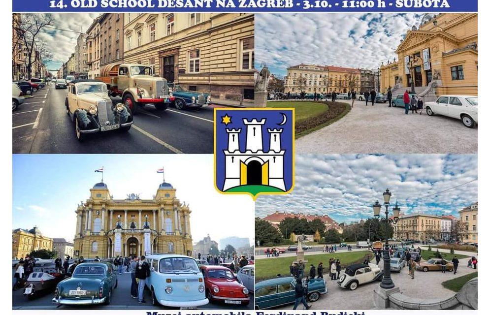 14. Old school desant na Zagreb
